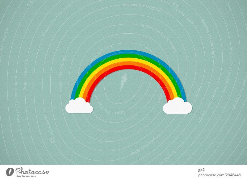 Rainbow Wetter Schönes Wetter Zeichen ästhetisch außergewöhnlich fantastisch Fröhlichkeit schön mehrfarbig Glück Lebensfreude Optimismus Menschlichkeit