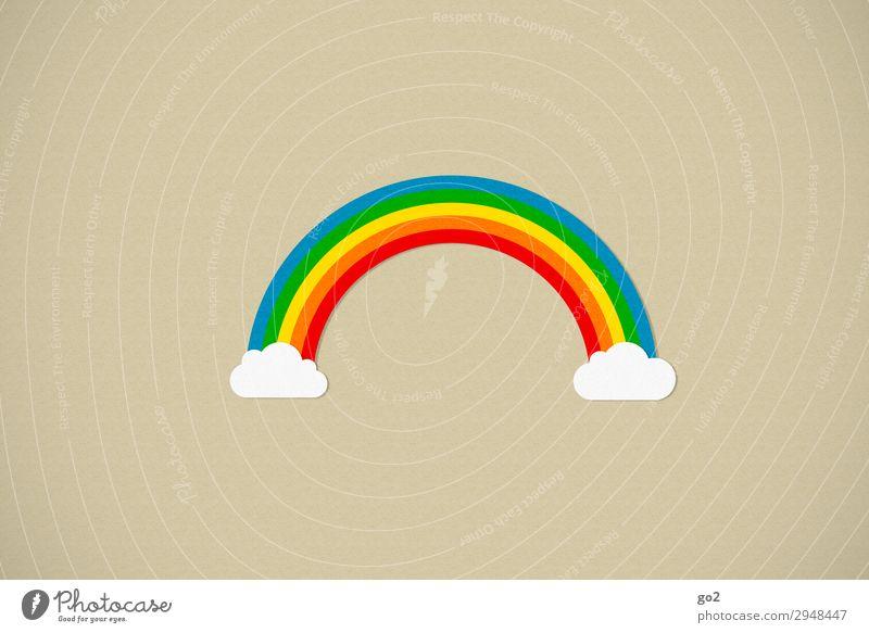 Over the Rainbow Leben harmonisch Wohlgefühl Zeichen ästhetisch Fröhlichkeit Lebensfreude Optimismus Solidarität Toleranz einzigartig Freiheit Glück Klima
