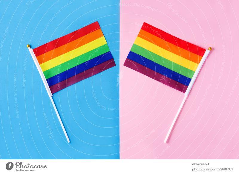 Fahnen für schwulen Stolz Homosexualität lgtb Regenbogen Farbe mehrfarbig rot gelb Symbole & Metaphern Transgender Vertreter Hintergrundbild Bewegung gehen