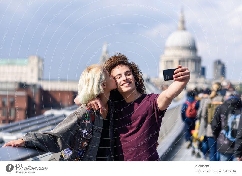 Frau Mensch Ferien & Urlaub & Reisen Jugendliche Mann Junge Frau Junger Mann Freude 18-30 Jahre Lifestyle Erwachsene Liebe feminin Gefühle Glück Paar