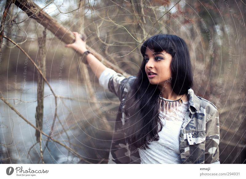 military Mensch Natur Jugendliche schön Junge Frau Erwachsene Umwelt feminin 18-30 Jahre Mode