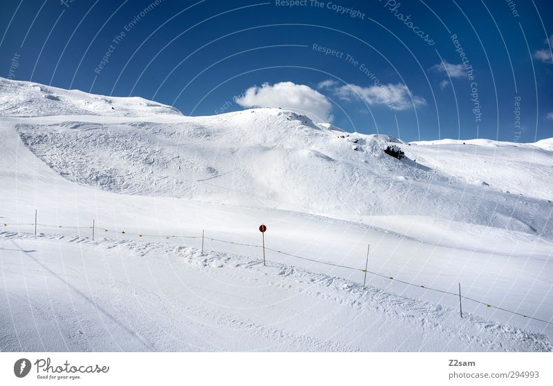 ratschings Himmel Natur Ferien & Urlaub & Reisen Erholung Landschaft Einsamkeit ruhig Winter Berge u. Gebirge kalt Umwelt Wege & Pfade Schnee oben hell