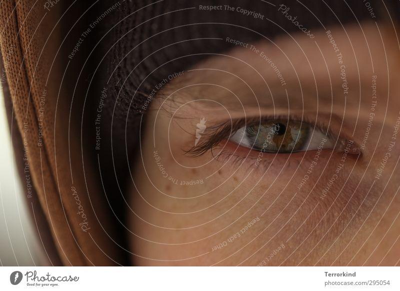 paragruffel.freund Mensch Kopf Auge 1 18-30 Jahre Jugendliche Erwachsene Liebe ästhetisch authentisch glänzend gut schön braun grün schwarz Gefühle Stimmung
