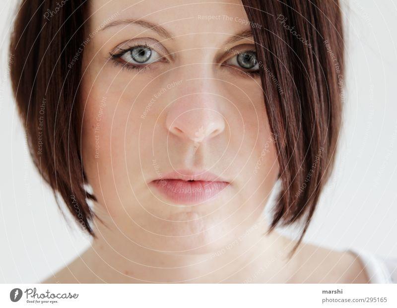 just be elegant Stil Mensch feminin Junge Frau Jugendliche Erwachsene Gesicht Auge 1 18-30 Jahre Gefühle Stimmung Blick Blick in die Kamera dunkelhaarig
