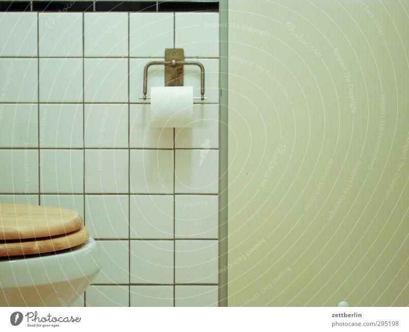 Toilette Wasser Wand Innenarchitektur Linie Wohnung Häusliches Leben Badewanne Reinigen Papier Sauberkeit Klarheit Textfreiraum Fliesen u. Kacheln Körperpflege