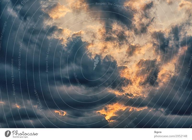 der leere Himmel und die Sonne in der Nähe der Wolke Design schön Leben Freiheit Tapete Wissenschaften Kunst Umwelt Wolken Klima Wetter dunkel hell natürlich