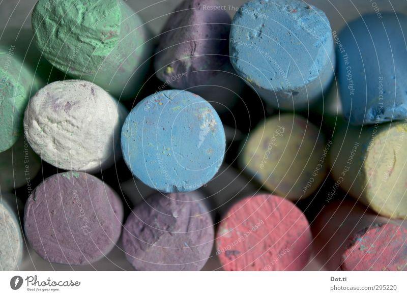 Kreide blau grün weiß gelb Spielen Schule rosa Freizeit & Hobby malen rund viele violett gebraucht Pastellton matt