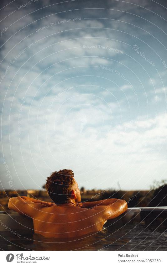 #A# relax Kunst Kunstwerk ästhetisch Erholung Wellness Schwimmbad Whirlpool Ferien & Urlaub & Reisen Urlaubsfoto Urlaubsstimmung Urlaubsort Urlaubsflirt Mann
