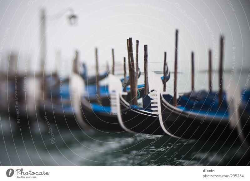 once upon a time in venice Ferien & Urlaub & Reisen Tourismus Sightseeing Städtereise Meer Insel Wasser Wetter schlechtes Wetter Nebel Laguneninseln Venedig
