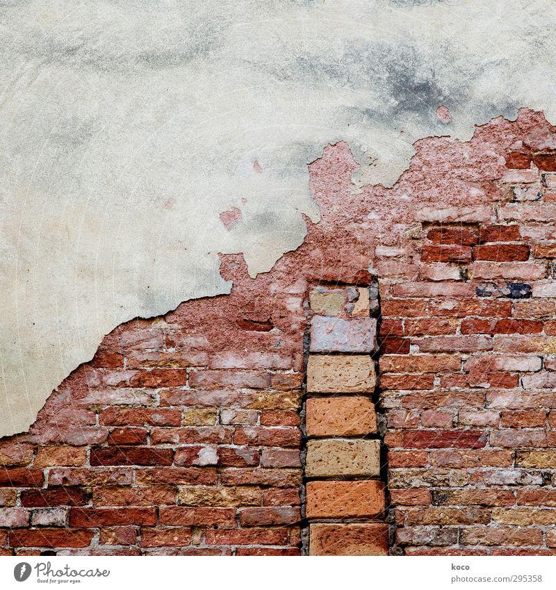 stairway to heaven alt weiß rot schwarz Haus Wand Wege & Pfade Mauer Gebäude grau Stein braun orange Fassade Treppe Wachstum