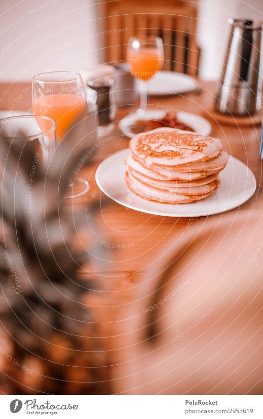 #A# Guten Morgen! Pancake-Frühstück :) Kunst ästhetisch Frühstückstisch Frühstückspause Gedeck Essen Stadt Essen Gesunde Ernährung lecker Wochenende Orangensaft