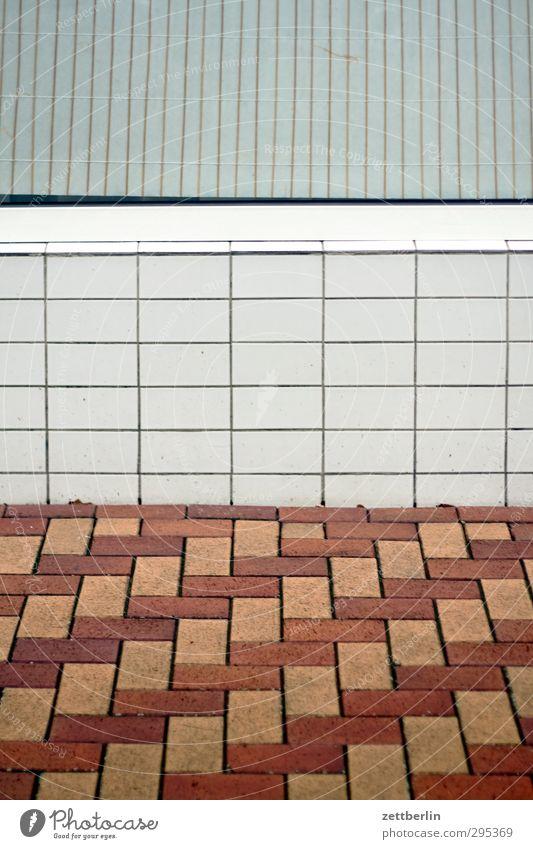 Muster Fenster Wand Design Bodenbelag Fliesen u. Kacheln Schach Mischung Schachbrett Schaufenster Jalousie