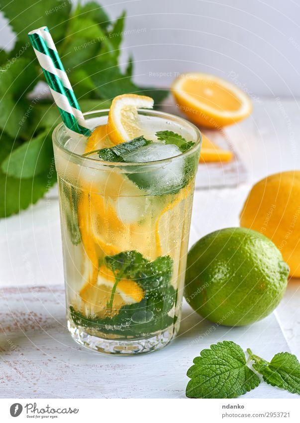 grün weiß Blatt Essen gelb Frucht frisch Glas Kräuter & Gewürze Getränk Tradition gefroren reif Erfrischung Vitamin Zitrone
