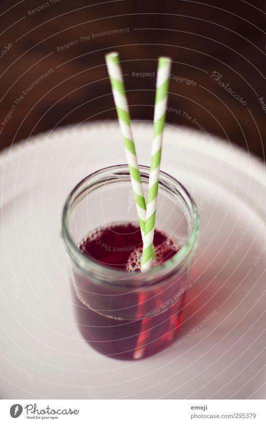 juicy Getränk Erfrischungsgetränk Limonade Geschirr Glas Trinkhalm lecker süß Farbfoto Innenaufnahme Menschenleer Textfreiraum oben Schwache Tiefenschärfe