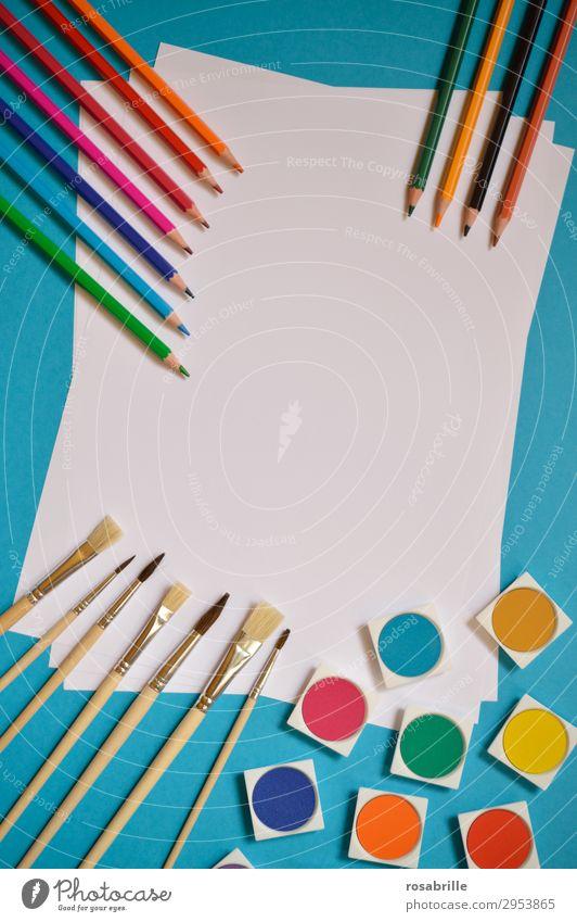 malen mit … | Fingerspitzengefühl Freude Freizeit & Hobby Bildung Erwachsenenbildung Arbeitsplatz Feierabend Kunst Künstler Maler Schreibwaren Papier
