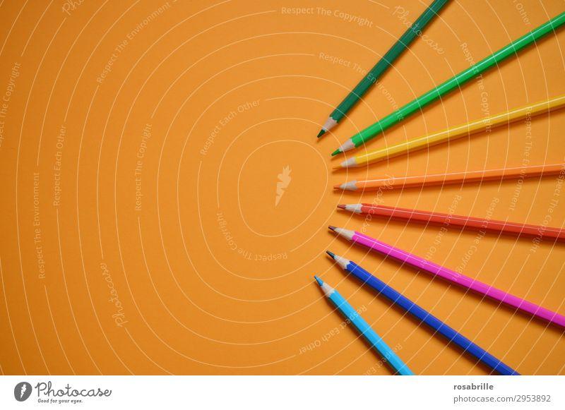Buntstifte zum Zeichnen und Malen mit ... | Fingerspitzengefühl Freizeit & Hobby Bildung Erwachsenenbildung Arbeitsplatz Feierabend Kunst Künstler Maler Gemälde