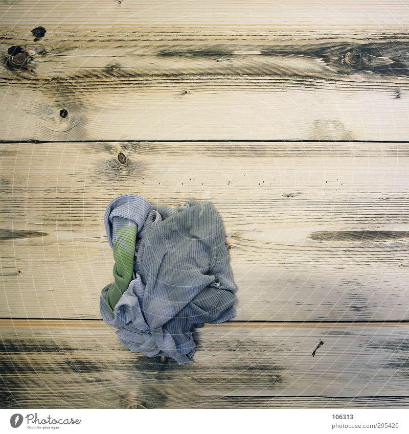 1A Lumpen T-Shirt Arbeit & Erwerbstätigkeit alt authentisch Sauberkeit trashig ruhig lumpen Putztuch Fetzen einreiben Maserung Holz Textilien dreckig
