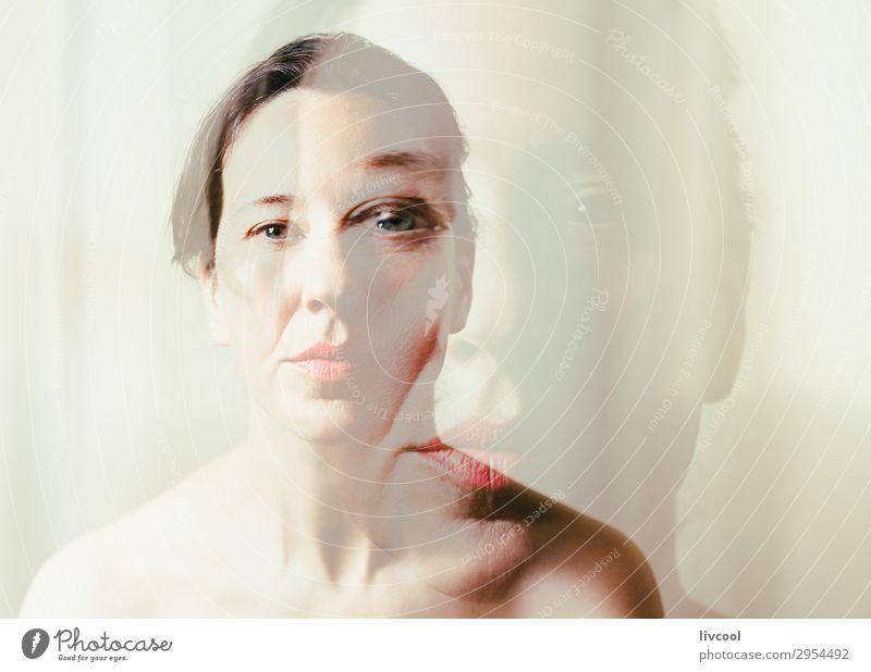frische, reife Schönheit II Lifestyle schön Gesicht Erholung feminin Frau Erwachsene Denken Gelassenheit Sinnlichkeit lieblich Senior Licht Posen weiblich
