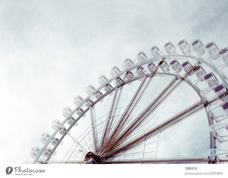 ON TOP Himmel (Jenseits) Erholung Liebe Bewegung träumen Freizeit & Hobby hoch Ausflug Kultur Stern (Symbol) Todesangst fahren Höhenangst Futurismus Flugangst