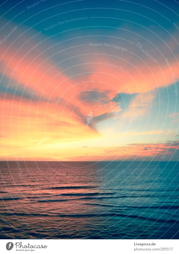oh Bali Himmel Natur blau Wasser Sommer Sonne Meer Landschaft Wolken ruhig Strand Umwelt gelb Küste Horizont orange