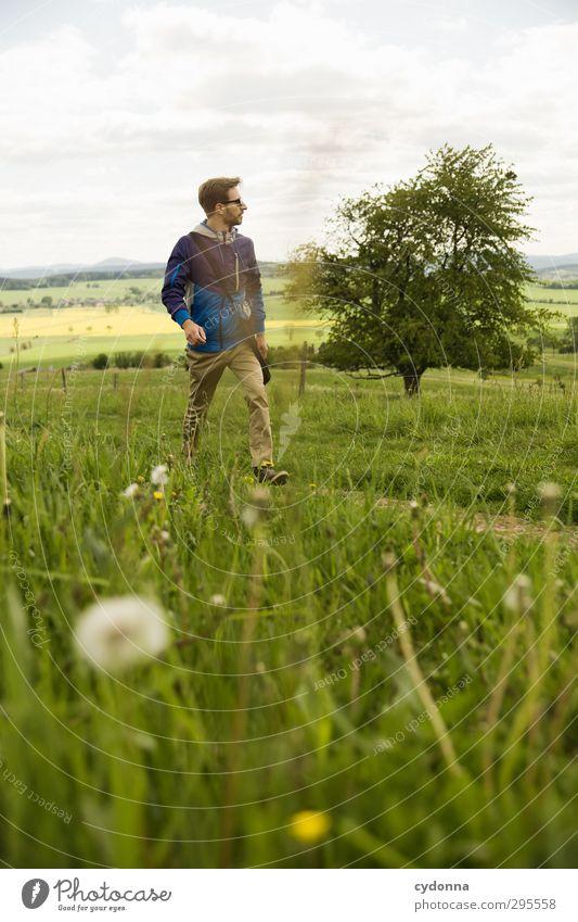 und weiter ... Gesundheit Leben Wohlgefühl Erholung Ferien & Urlaub & Reisen Ausflug Abenteuer Ferne Freiheit wandern Mensch Junger Mann Jugendliche 18-30 Jahre