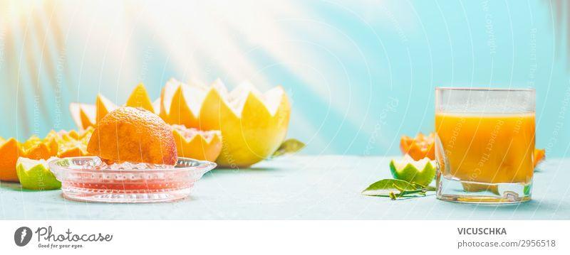 Frisch gepresster gemischter Zitrusfruchtsaft Lebensmittel Frucht Orange Frühstück Bioprodukte Getränk Trinkwasser Limonade Saft Longdrink Cocktail