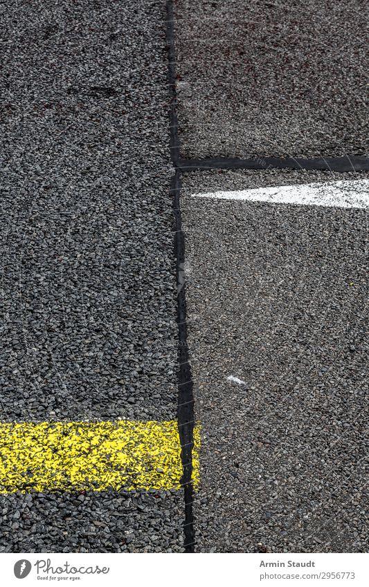 Streetart X Lifestyle Stil Design Stadt Verkehrswege Straße Autobahn Landebahn Zeichen Ornament Schilder & Markierungen Verkehrszeichen Linie Netzwerk