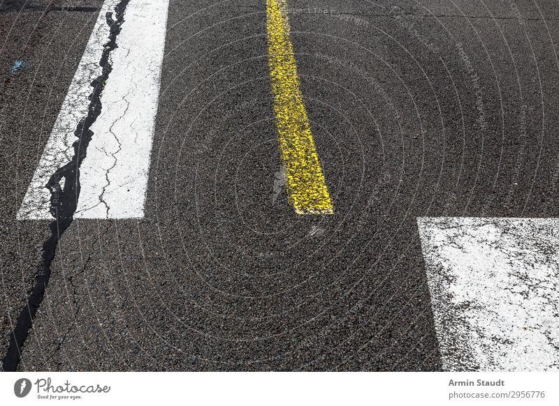 Streetart XI Stadt Farbe Straße Lifestyle gelb Stil grau Design Linie ästhetisch Schilder & Markierungen Kreativität Zeichen planen Netzwerk rein