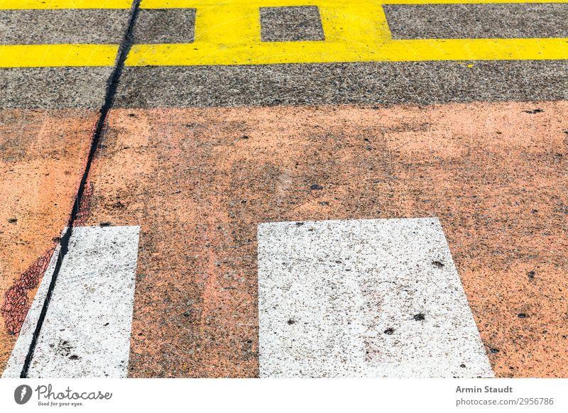 Streetart III Lifestyle Stil Design Kunst Stadt Verkehrswege Straße Autobahn Landebahn Zeichen Ornament Schilder & Markierungen Verkehrszeichen Linie Netzwerk