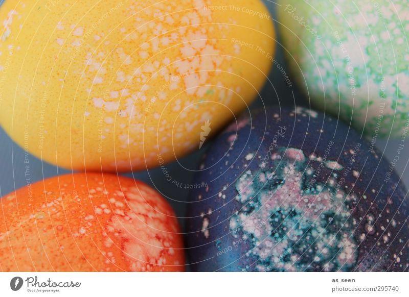 noch mehr bunte Eier Natur blau grün Farbe gelb Umwelt Farbstoff Frühling Glück natürlich Feste & Feiern orange Design Dekoration & Verzierung ästhetisch