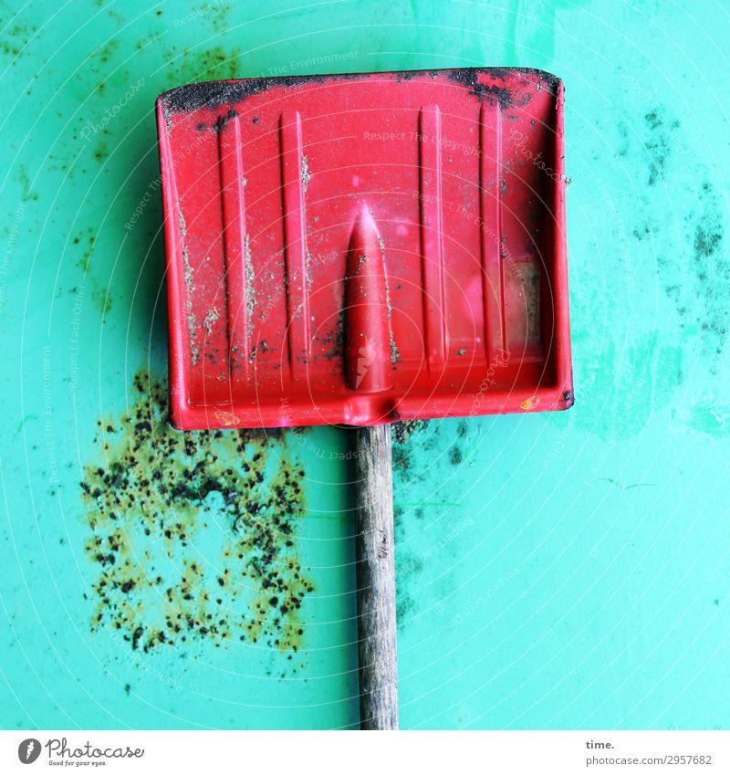 !Trash! 2019 | Gnadenplatz Arbeit & Erwerbstätigkeit Arbeitsplatz Baustelle Dienstleistungsgewerbe Handwerk Schaufel Mauer Wand Rost Metall alt außergewöhnlich