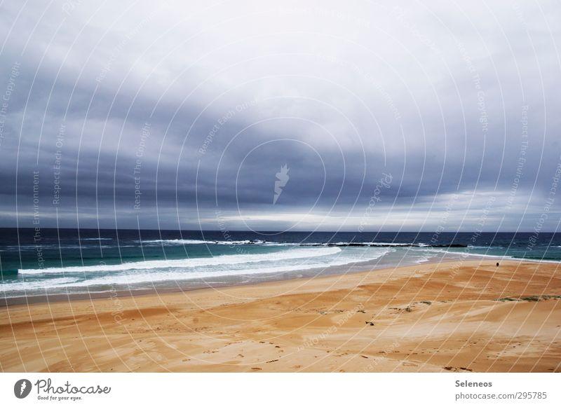 kommt mit ins Paradies Himmel Natur Ferien & Urlaub & Reisen Wasser Sommer Meer Erholung Landschaft Wolken Strand Ferne Küste Freiheit Horizont Wetter Wellen