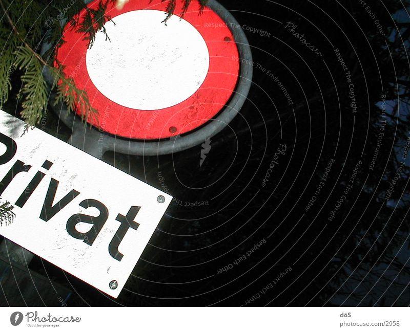 privat Schilder & Markierungen stoppen Dinge Verkehrszeichen Verkehrsschild Symbole & Metaphern