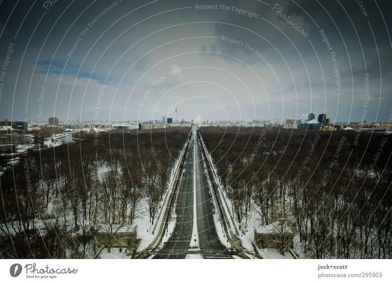 kleine Eiszeit Himmel Stadt Tier Winter Horizont Park Luft Eis trist frei hoch Klima Hoffnung Unendlichkeit Frost Fernweh