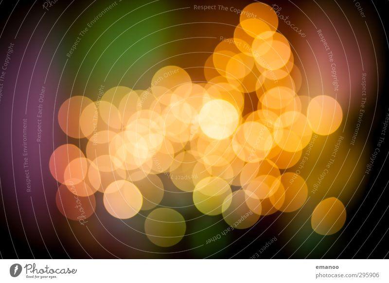 Bokeh Weihnachten & Advent gelb Wärme Lampe hell Hintergrundbild Kunst Design Kreis weich Show Zeichen Kerze Veranstaltung Kugel