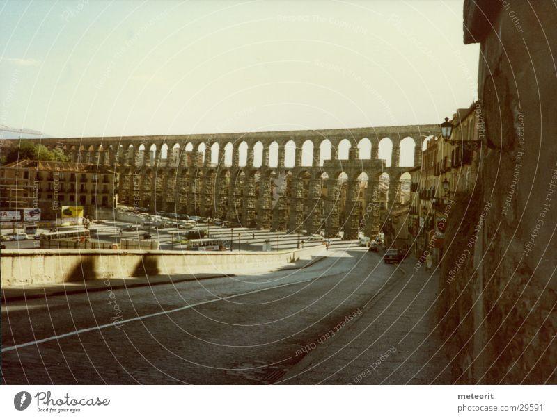 Aquädukt von Segovia Spanien Castilla-Leòn Rom Brücke Wasserwerk Architektur