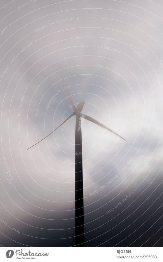 Trübe Aussichten Himmel blau weiß Wolken schwarz Umwelt dunkel grau Luft Wetter Wind Nebel Energiewirtschaft groß Energie Zukunft