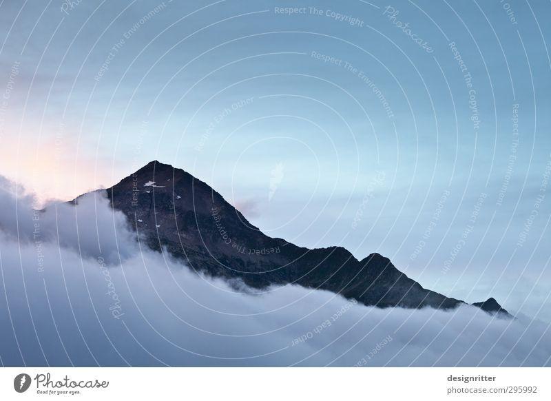 grenzenlos ... Freizeit & Hobby Ferien & Urlaub & Reisen Ferne Freiheit Berge u. Gebirge wandern Alpen Gipfel Farbfoto Außenaufnahme Menschenleer
