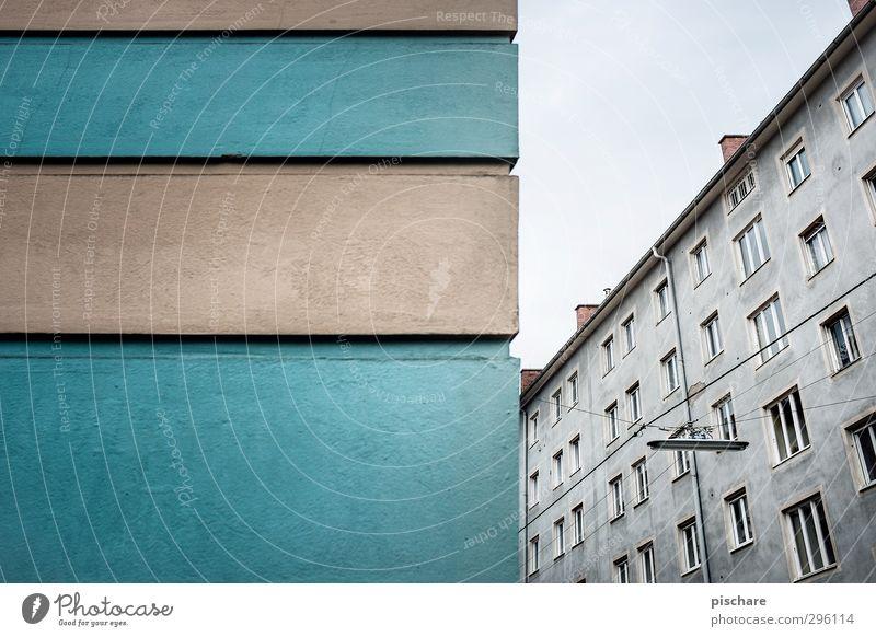Schöner wohnen Stadt Haus Wand Architektur Mauer Gebäude Fassade