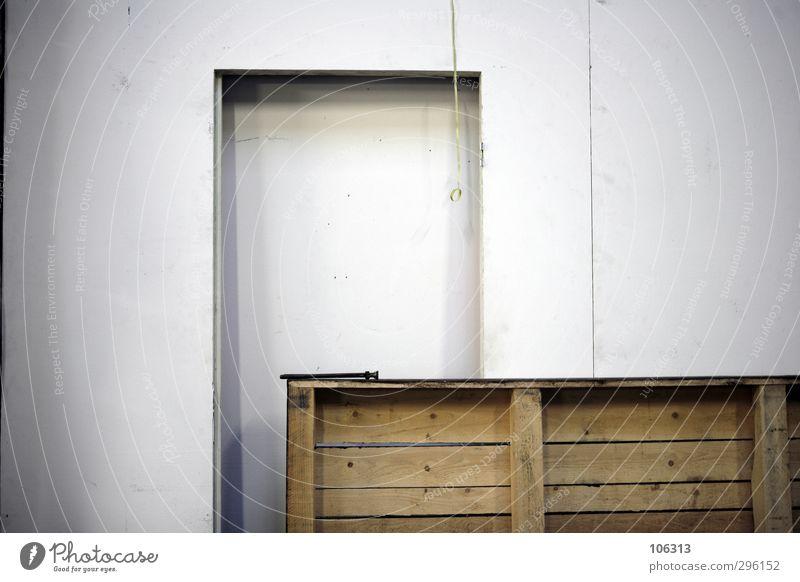 Fotografie ist langweilig und langweilt mich auf lange Sicht Holz Tür stehen Autotür Holzbrett Paletten