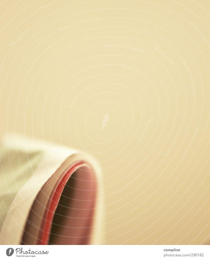 Druckerzeugnis lernen Studium Papier Grafik u. Illustration lesen Zeitung Seite Berufsausbildung Werbebranche Arbeitsplatz Zeitschrift Knick Azubi Bildung