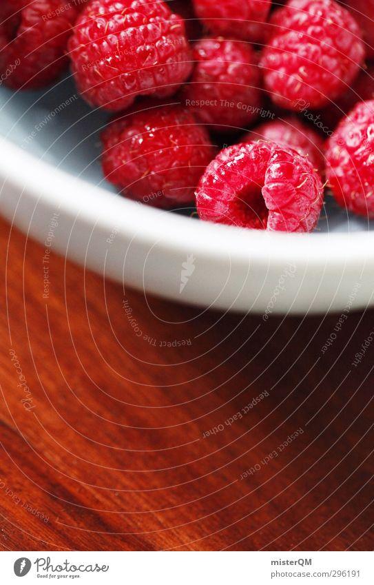 himberry. rot Gesundheit Kunst Lebensmittel Zufriedenheit frisch ästhetisch viele lecker Frühstück ökologisch Beeren Schalen & Schüsseln Vitamin Vegetarische Ernährung Himbeeren