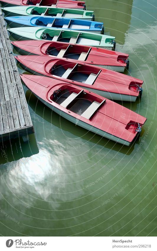 Vorsaison ruhig Freizeit & Hobby Ferien & Urlaub & Reisen Tourismus Ausflug Sommer Wassersport Sonnenlicht Schönes Wetter Seeufer Neusiedlersee Wasserfahrzeug