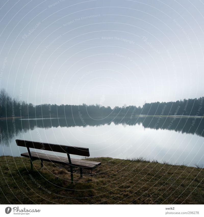 Tranquille Himmel Natur Pflanze blau Wasser Erholung Landschaft ruhig Ferne Wald Umwelt Frühling Gras Freiheit See Horizont