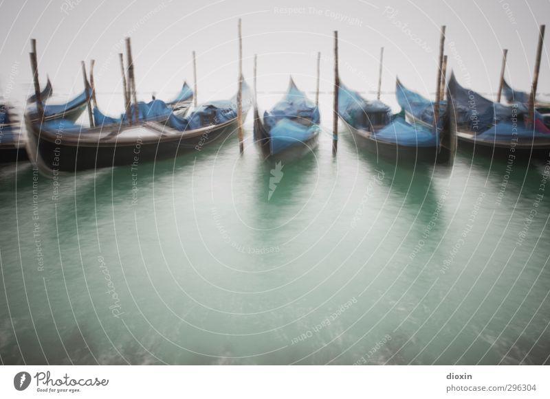 Im Nebel -2- Ferien & Urlaub & Reisen Tourismus Sightseeing Städtereise Wasser Wetter schlechtes Wetter Venedig Italien Stadt Hafenstadt Menschenleer