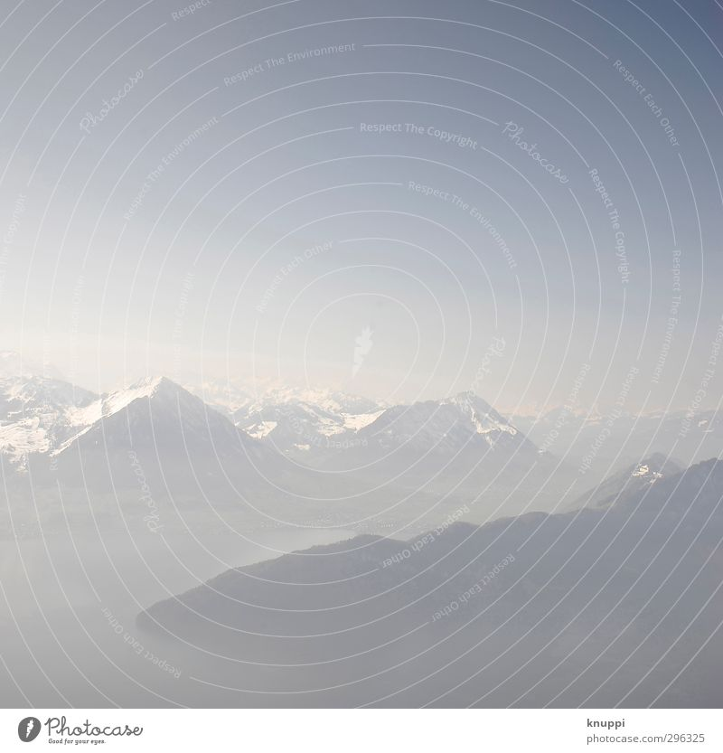Silence Himmel Natur blau weiß Sonne Landschaft ruhig Umwelt Ferne Berge u. Gebirge Frühling grau See Horizont Luft Felsen