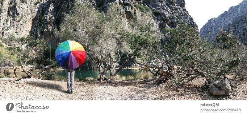 Colour Lovers MLC. Lifestyle Kunst ästhetisch Kreativität Farbfoto Farbenspiel Farbenwelt mehrfarbig Idee Grafik u. Illustration regenbogenfarben Regenschirm