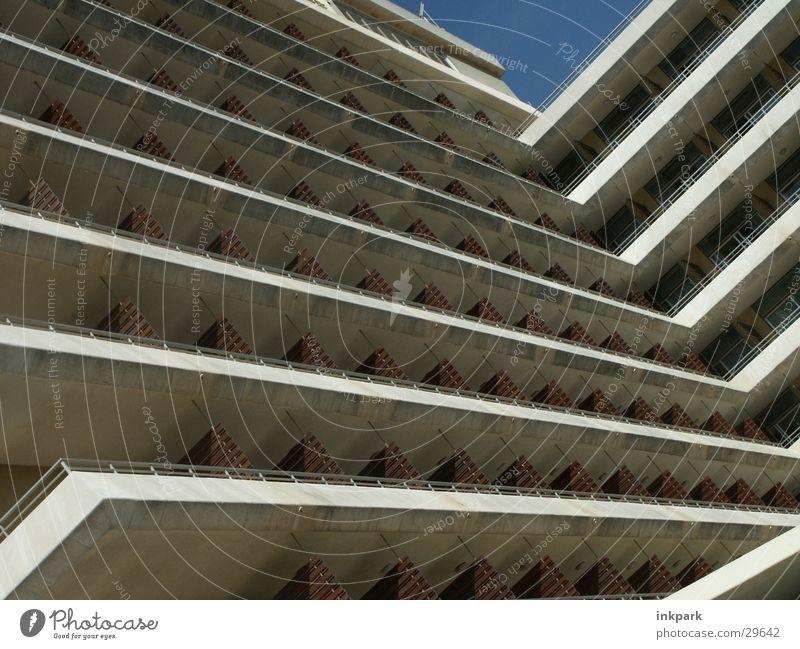 Bollwerk Spanien Hotel Wohnung Architektur Symetrie