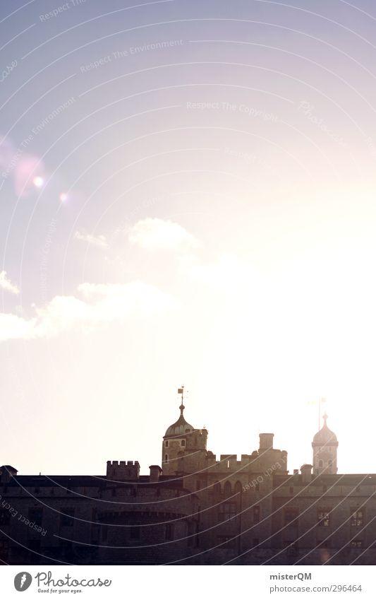 Traumhotel. Kunst ästhetisch Architektur Tower of London Sehenswürdigkeit Großbritannien Festung Mittelalter historisch Historische Bauten Turm