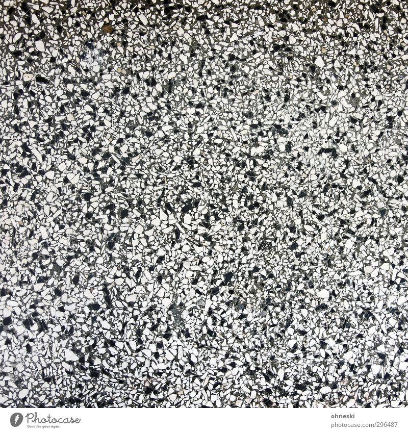 Puzzle Design Menschenleer Treppe Mosaik Stein Beton schwarz weiß Schwarzweißfoto Innenaufnahme abstrakt Muster Strukturen & Formen Textfreiraum links